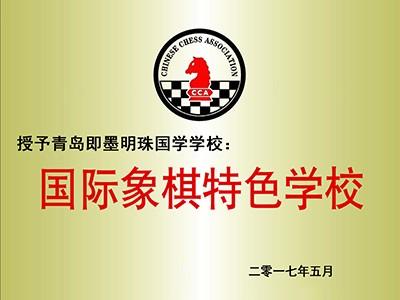 明珠国学:国际象棋特色学校