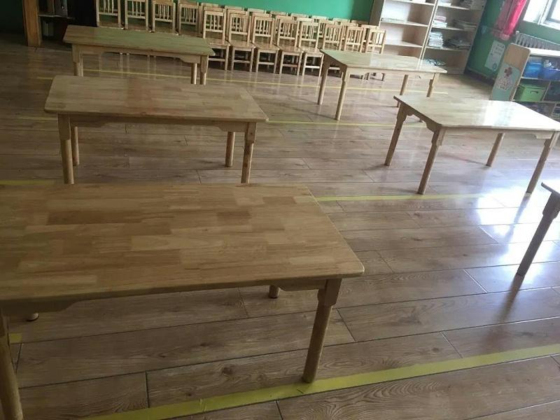 明珠国学幼儿园桌椅