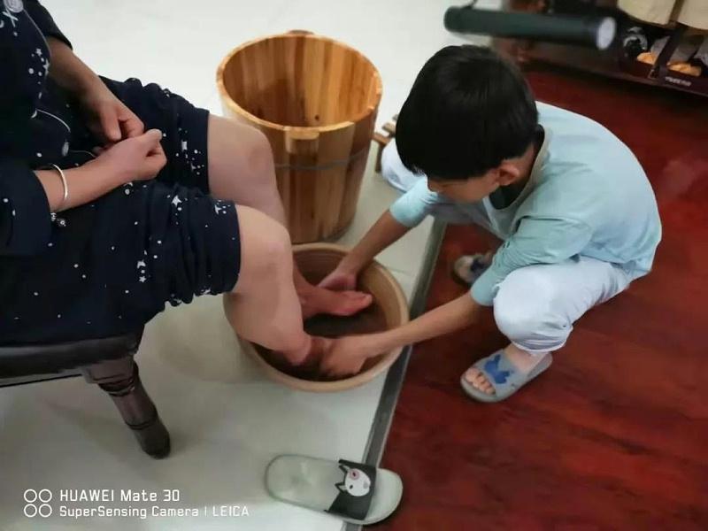 明珠国学洗脚