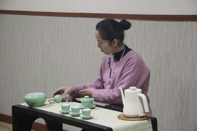 明珠国学茶修备茶