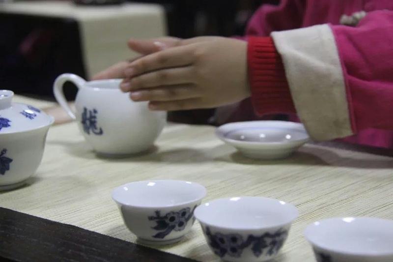 明珠国学茶修温杯